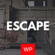 Escape - Real Life Room Escape Game Company WP Theme