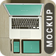 Realistic Mac & iPad Mockup