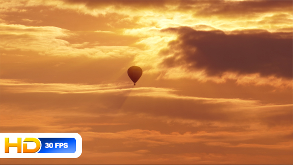 Download Hot Air Balloon at Sunset nulled download