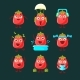 Tomato Cartoon Character Collection