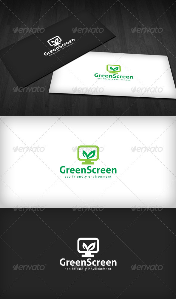 Green Screen Logo - Symbols Logo Templates