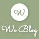 We blog - Blog WordPress Theme