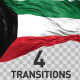 Kuwait Flag Transitions