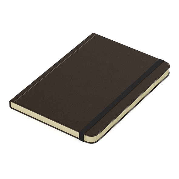 Brown notebook - 3DOcean Item for Sale
