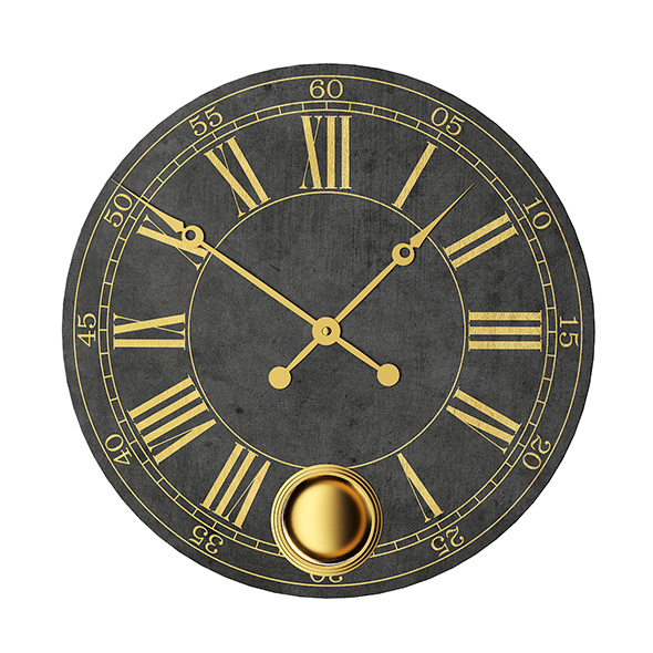 Large Wall Clock - 3DOcean Item for Sale
