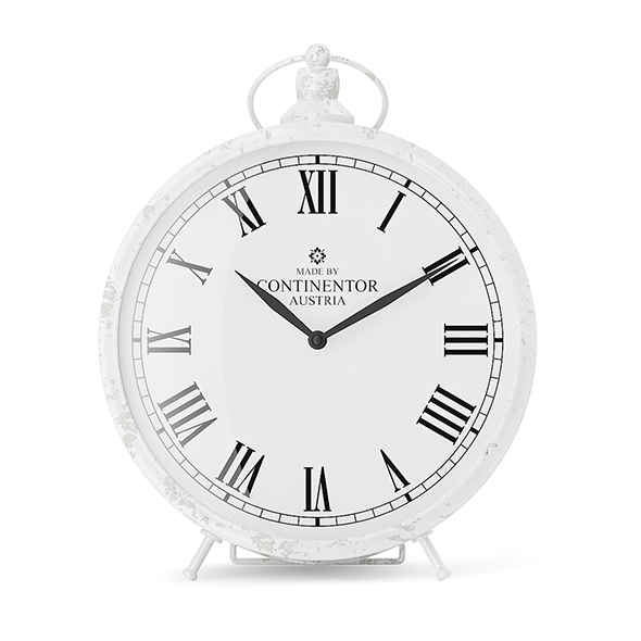 White Clock - 3DOcean Item for Sale