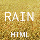 Rain - Creative Minimal HTML Template