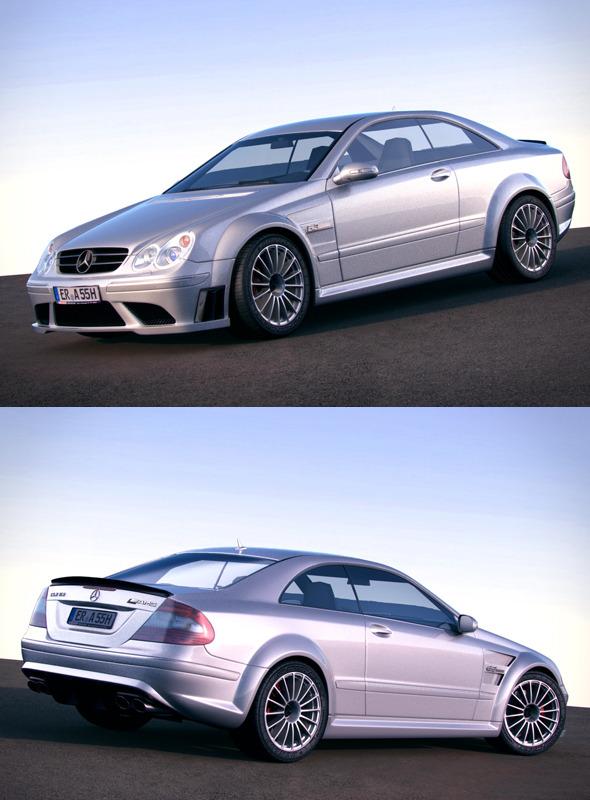 3DOcean Mercedes Benz CLK63 AMG w209 751916
