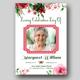 Funeral Program Template / Funeral Card -V069