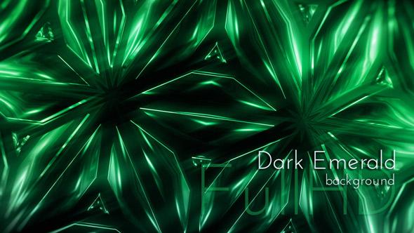 Tumma Emerald Tausta - Abstract Taustat Motion Graphics
