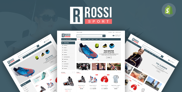 Image of SP Rossi - Clean Responsive Shopify Theme