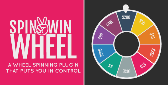 Spin2Win Wheel - Spin It 2 Win It! - CodeCanyon Item for Sale