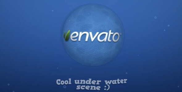 After Effects Project - VideoHive Underwater Logo 1605526