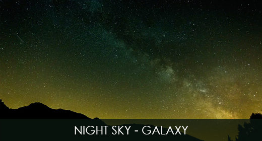 Night Sky - Galaxy