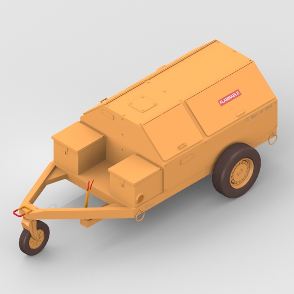 Utility Cart - 3DOcean Item for Sale