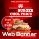 Fast Food Web Banner