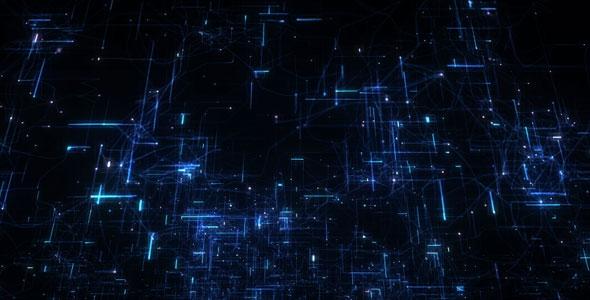 Cybernetic Journey V.2 - Technology Taustat Motion Graphics