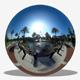 Sunny City Park Sky Wheel HDRI