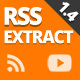 RSSExtract - Generate your site from RSS feeds and YouTube playlists