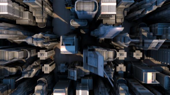 City - 3D, Object Taustat Motion Graphics