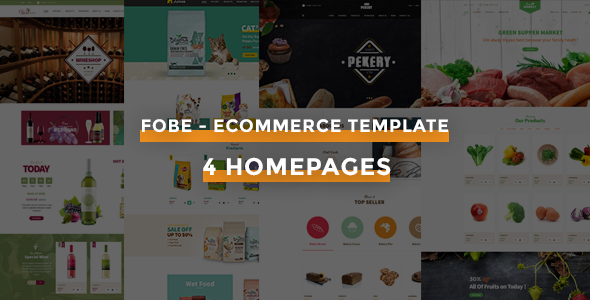 Download Fobe - Multipurpose Responsive Opencart Theme nulled download