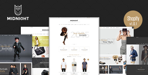 Midnight – Responsive Shopify Theme (Shopify) Download