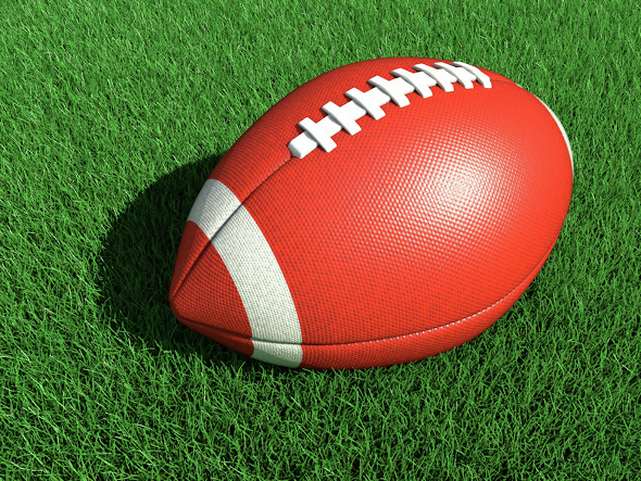 Football for Cinema 4D - 3DOcean Item for Sale