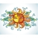Female decorative sun - GraphicRiver Item for Sale