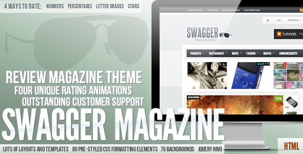 SwagMag - Magazine/Review Theme - Music and Bands Entertainment