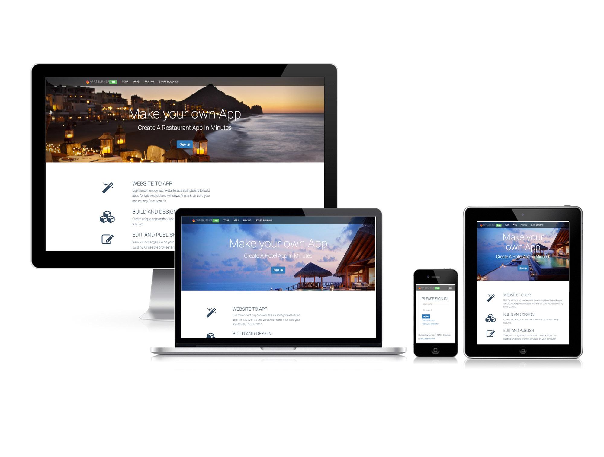 responsive website tester mockup screenshot generator by vidal