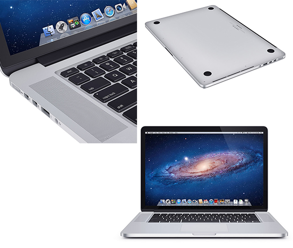 laptop Computer Electronic 13 macbook 15 - 3DOcean Item for Sale