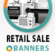 Retail Sale Banners