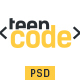 Teen Code - Ecommerce PSD Template