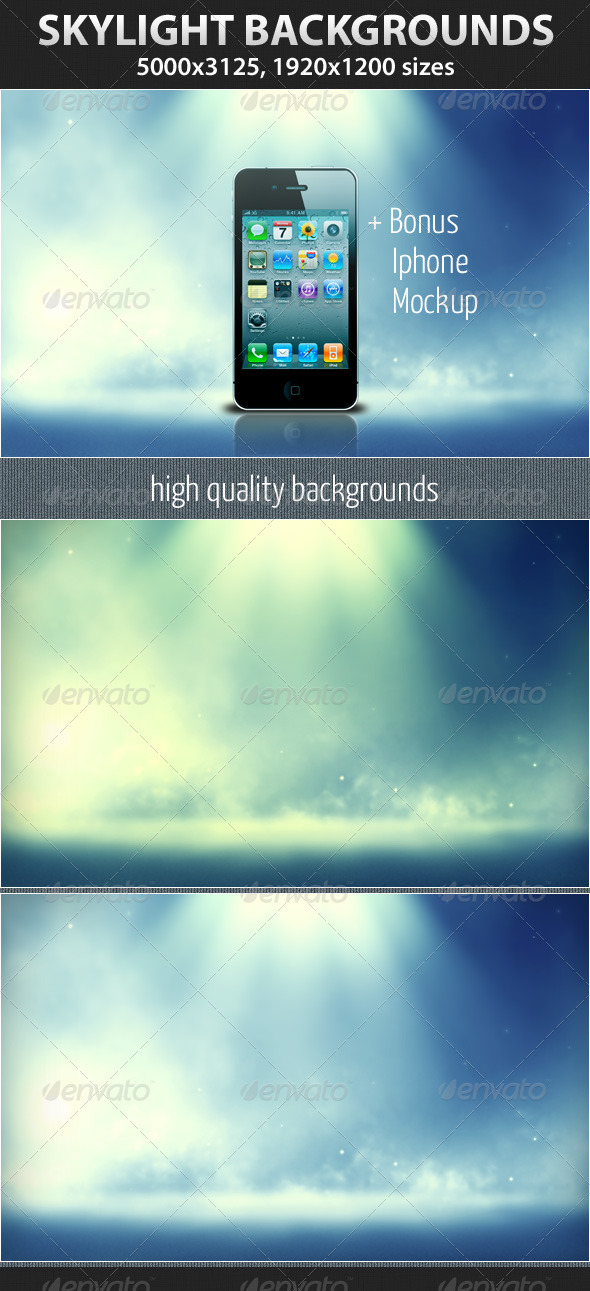 Graphic River Skylight Graphics -  Backgrounds  Abstract 1471193