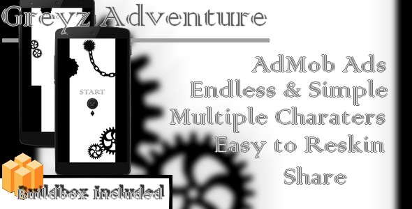 Greyz Adventure - Android Buildbox & Eclipse Game Template