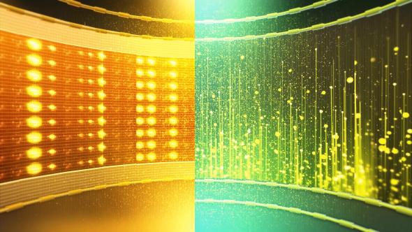 Pyörivä Vaihe 2 - Light Taustat Motion Graphics