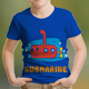 Submarine Kids T-Shirt Design