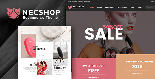 Download Nec Shop - Responsive Multipurpose WooCommerce Theme