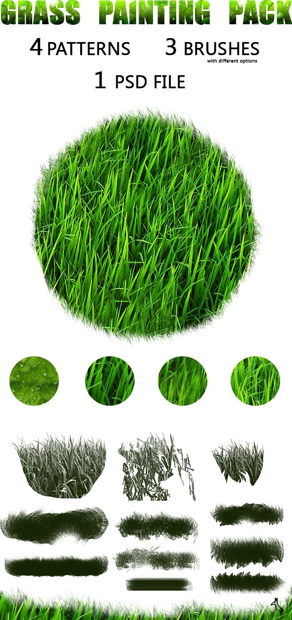 Grass Paint Pack