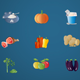 Animated Food Icons 3