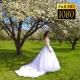 Bride In The Garden 16