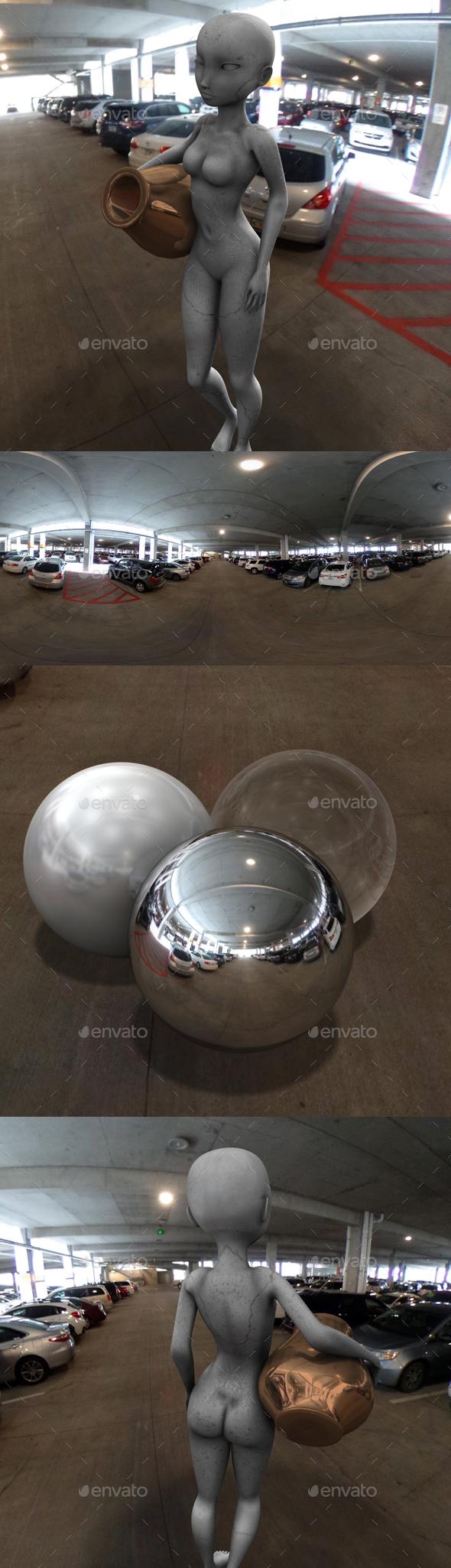 Indoor Car Park HDRI - 3DOcean Item for Sale