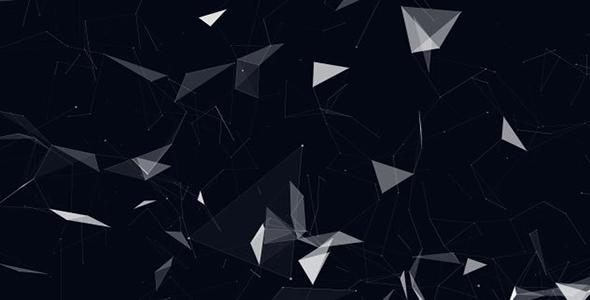 Plexus Network Tausta - Abstract Taustat Motion Graphics
