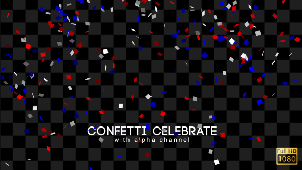 Confetti Juhli - Tapahtumat Elements Motion Graphics