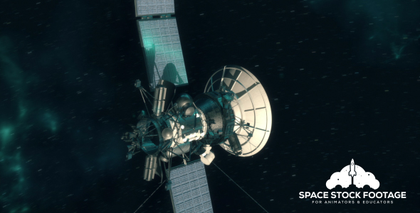 Deep Space Probe - Space Taustat Motion Graphics
