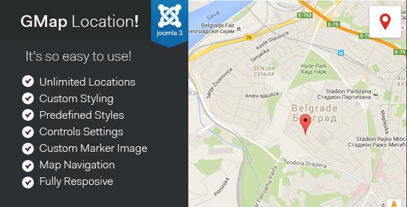 GMap Location! - Joomla Google Maps Module