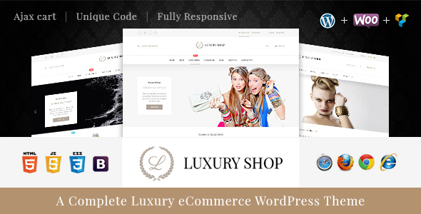 Download Luxury - eCommerce WordPress Theme