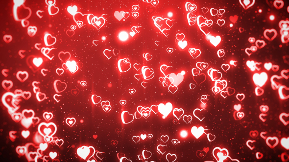 Hearts - Tapahtumat Taustat Motion Graphics