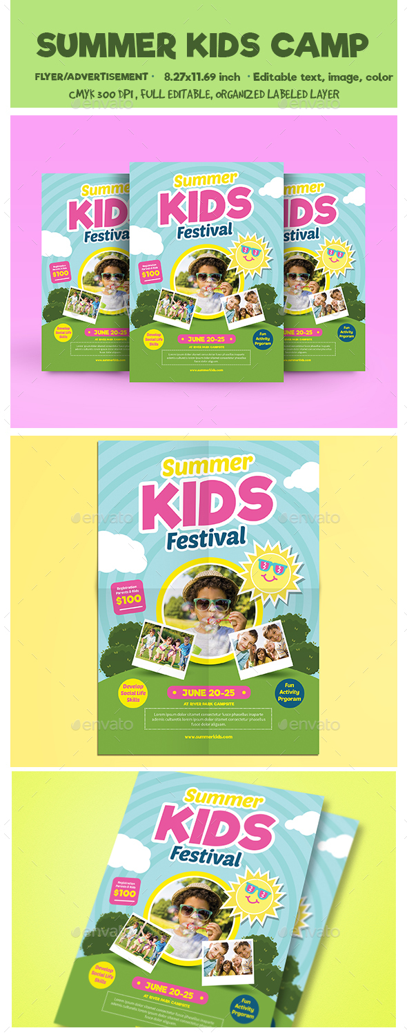 Summer Kids Camp Flyer
