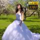 Bride Walks In The Garden 3